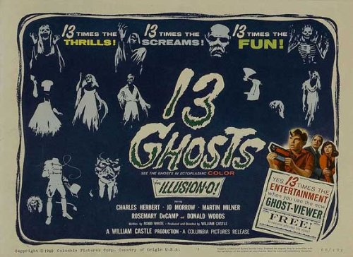 13 Ghosts Plakat Movie Poster (11 x 17 Inches - 28cm x 44cm) (1960) ()