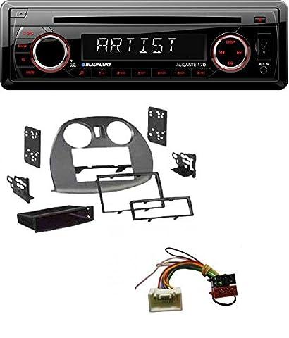 Blaupunkt Alicante 170 CD USB SD MP3 AUX Autoradio für Mitsubishi Eclipse (4G 2005-2012) (4g Datenträger)