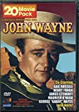 John Wayne 20 Movie Pack - 4 Digitally Remastered DVDs - Includes movies like: The Dawn Rider, Hell Town, Blue Steel, McLintock, West of the Dividem Paradise Canyon, and more