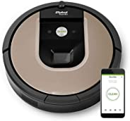 iRobot Roomba 966 WiFi connected Robot Vacuum with Power-Lifting Suction - Dual Multi- Surface Rubber Brushes - Multi room n