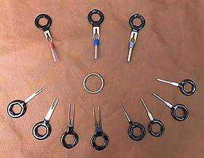 ETbotu 11PCS/set terminali strumenti di rimozione auto cablaggi elettrici crimpare connettore pin estrattore kit
