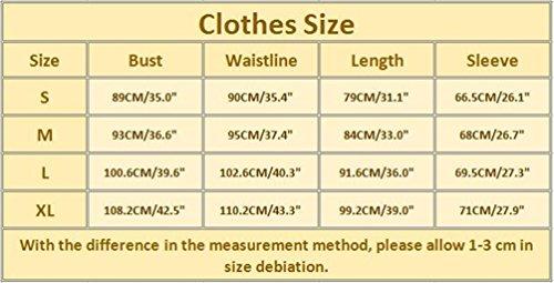 WanYang Donna Stampa T Shirt Magliette Maglie Donne Maglione Natale Casuale Camicetta Maglietta Giallo #-02