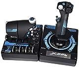 Saitek Pro x-56Rhino H.O.T.A.S. Video Spiel Flight Controller für PC (scb432210002/01/1) (Zertifiziert aufgearbeitet)