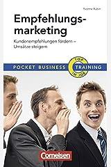 Empfehlungsmarketing: Kundenempfehlungen fördern - Umsätze steigern (Cornelsen Scriptor - Pocket Business) Broschiert
