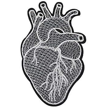 Applikation zum Aufbügeln Bügelbild  11 786  Herz