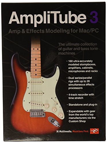 Gitarren-Software IK Multimedia AmpliTube 3