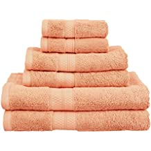 Superior - Juego de Toallas, Suaves y absorbentes, de rayón de bambú y algodón