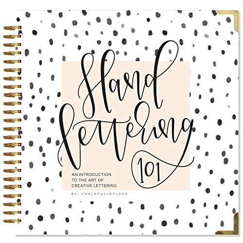 Hand Lettering 101: An Introduction to the Art of Creative Lettering por Chalkfulloflove
