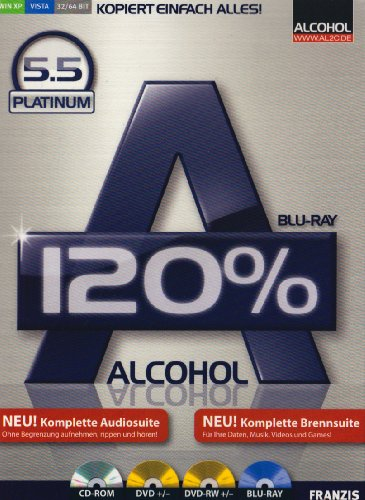 Roxio-dvd-brenner-software (Alcohol 120% 5.5)