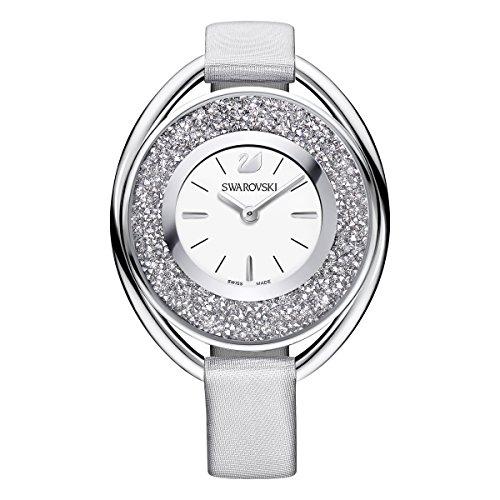 Swarovski orologio crystalline oval, grigio