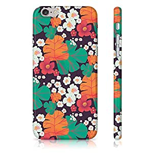 Apple iPhone 6 Japanese Flower Pattern Printed Designer Mobile Phone Case Back Cover by Be Awara - Matte Finish