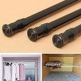 Extensible de tensi—n ajustable cortina de la ventana Rod poste telesc—pico de poste ducha barra de la cortina