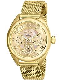... para Relojes   Última semana. Invicta Angel Reloj de Mujer Cuarzo  analógico Correa y Caja de Acero 27455 7a48b4f06edc