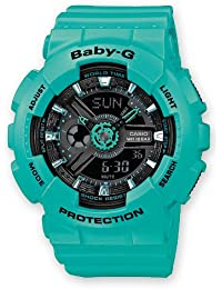 Casio Baby-G – Damen-Armbanduhr mit Analog/Digital-Display und Resin-Armband – BA-111-3AER