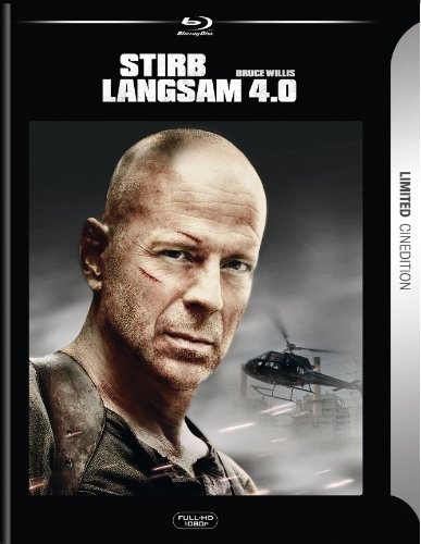Stirb langsam 4.0 - Kinoversion + Recut - Limited Cinedition (+ DVD) [Blu-ray]