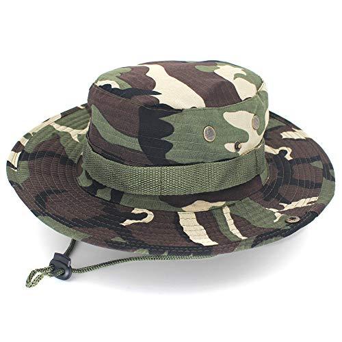Marmelade Glas Kostüm - Runder Hut des zufälligen Dschungels des Fischerhutes im Freien, der Fischen-Tarnungsmütze wandert.1 56-62 cm