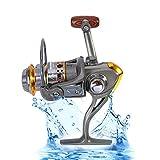 13 Achse 1000-7000 Serie Full Metal Spinning Angelrolle Salzwasser Süßwasser Karpfen Angeln Rad mit 5,2: 1 Getriebe Verhältnis ( Design : 7000 Series )