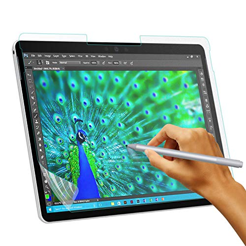 TiMOVO Matte Displayschutzfolie Ersatz für Surface Pro 6/5/4/LTE, Anti Reflex Schutzfolie Displayschutz wie Papier Kompatibel für Microsoft Surface Pro 6/5/4/LTE - Bereift