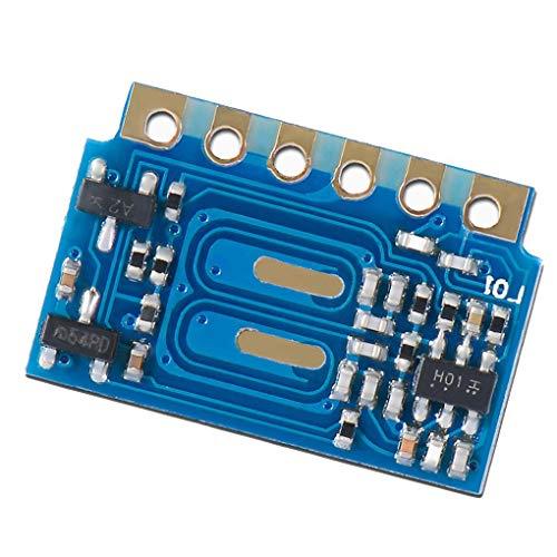 433 Mhz Mini (Aiming H3V4F 433Mhz MINI Wireless Receiver-Modul ASK Ersatzfernempfänger-Modul für Wireless Switch/Türklingel DIY)