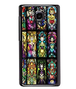 Printvisa 2D Printed Girly Designer back case cover for Xiaomi Redmi 1S - D4591