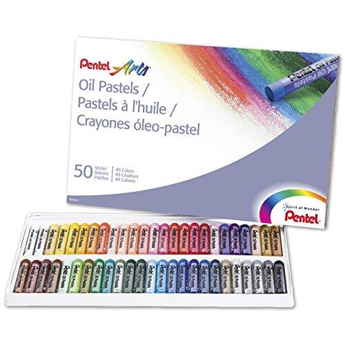 pentel-oil-pastels-50-pkg-assorted-colors