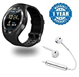 Best Apple Earbuds For Women - Captcha Y1 Smart Watch Bluetooth Watch Support SIM Review