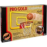 POOF Pro Gold Large Basketball Hoop by POOF