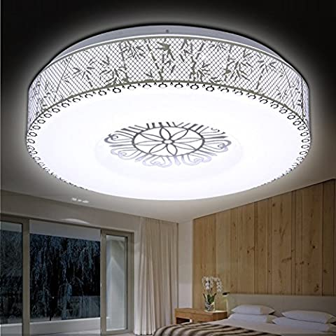 LKMNJ The Living Room  Bedroom  Day Lantern  Creative  Led  Ceiling Lamps  Modern  Minimalist  Circular  Home Lighting  Bamboo  24W