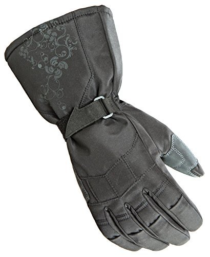 Joe Rocket Womens Cold Weather Gloves (Black, Large) (Sub Zero)