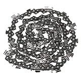 SENREAL Cadena de Motosierra de 20 Pulgadas, 325 Pasos, Calibre .058, 76 eslabones, Repuesto para Caton, Origen, Steele