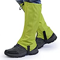 OUTAD Waterproof Outdoor Hiking Walking Climbing Hunting Snow Legging Gaiters( Pack of 2)