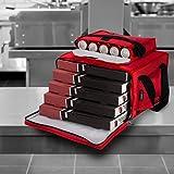 ultimateheat 12V climatizada Take Away 5Pizza caliente bolsa de entrega de comida y bebidas frescas