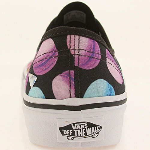 Vans Authentic, Chaussures Femme Noir / Multicolor