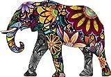 Best Bumper Stickers - Cheerful Elephant Animal Cartoon Car Bumper Sticker Decal Review