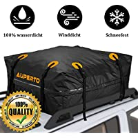 Wasserdicht Dachbox Auto - Aufbewahrungsbox Dachbox 15 kubikfuß,Faltbare Abnehmbare,Starkes und für Feiertage und Gepäcktransport - mit GARANTIE