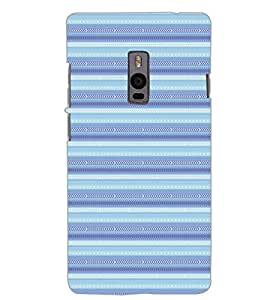 ONE PLUS TWO PATTERN Back Cover by PRINTSWAG