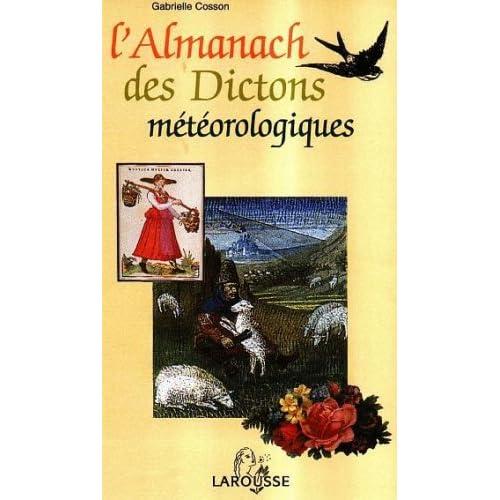 L'almanach météorologique des dictons