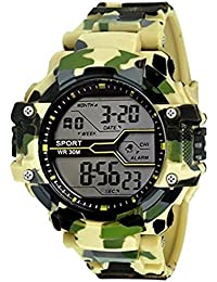 Jazz Style Army Light Green Color Sports Watch For Boys And Mens Watch - For Boys