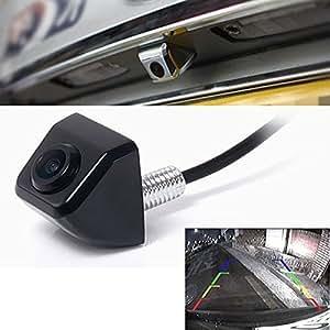 Continu E366 DC12V Night Vision étanche Caméra vue arrière de voitures/ Diagonal angle de 170 degrés stationnement de voiture/ Voiture caméra de recul--Noir