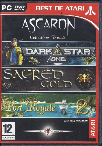 Ascaron Collections Vol.2 (Darkstar One, Sacred Gold, Port Royale 2) UK Import Royale Collection