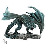 Nemesis Now Nyx Chained Dragon Hand Painted Figurine Ornament 21cm Staue Alator Range by Nemesis Now Ltd