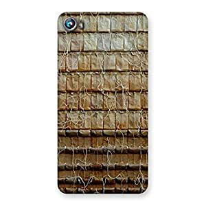 Stylish Wall Back Case Cover for Micromax Canvas Fire 4 A107