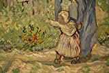 Vitalwalls - First Steps by Vincent Van Gogh - Premium Canvas Art Print best price on Amazon @ Rs. 499