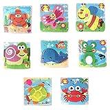 8 Teile / Satz Holz Tier Puzzle Pädagogische Entwicklungs Baby Kids Training Spielzeug YunYoud kinderspielzeug billige spielzeuge kinderspielsachen günstig
