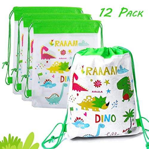 Killow 12 pcs Mochilas Dinosaurio