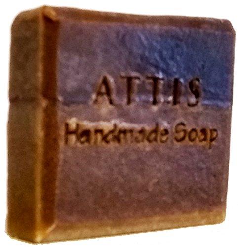 ATTIS handgefertigte Seide Neem Kamille Shampoo Bar | mit Kamille & Lavendel Ätherisches Öl | Seide | Shea Butter |-Sulfat frei | für Frauen & Männer -