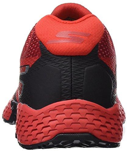 Skechers Performance Herren Go Train-Endurance Outdoor Fitnessschuhe Rot (Red/Black)