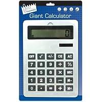 Just Stationery - Calcolatrice a Energia Solare, Gigante, 210 x 295mm, A4 - Confronta prezzi