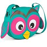 Affenzahn Kindergarten-Tasche Umhängetasche verstellbar für Jungen und Mädchen in der Kita Eluise Eule - türkis