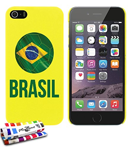 carcasa-rigida-ultra-slim-apple-iphone-5-de-exclusivo-motivo-balon-de-futbol-brasil-amarillo-de-muzz